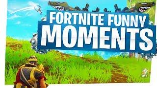 Fortnite Funny Moments - The Best Traps, Impulse Grenade Fun & Rocket Ride Kings!
