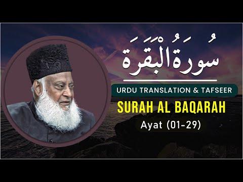 Bayan Ul Quran Hd - 006 - Sura Baqarah 1 - 29 (dr. Israr Ahmad) video