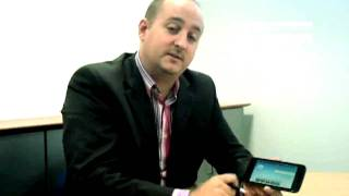 Dell Streak - Hands On Demo with The Carphone Warehouse eye openers