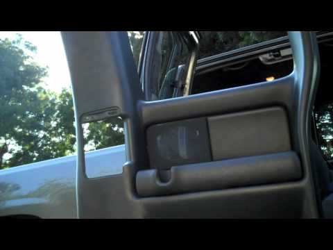 how to take off the back door panel of a 99-06 chevy silverado