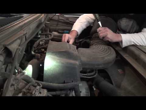2003 Ford F150 5.4 liter Triton Spark Plug removal and install - do it yourself and save some cash