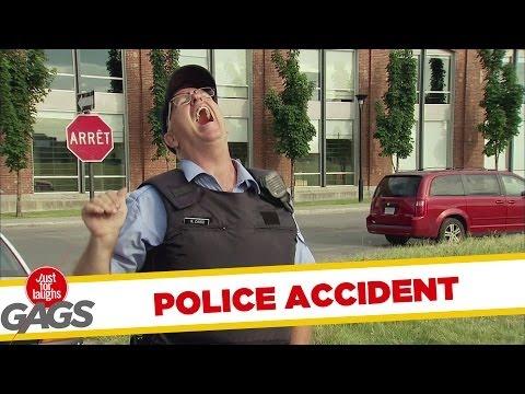 "Cop's ""Little Buddy"" Caught in Hood"