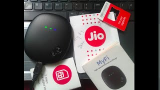 How to Check Reliance Jio 4G MiFi JioFi device Data Usage Balance