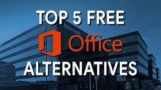 Top 5 Free Microsoft Office Alternatives (2017)