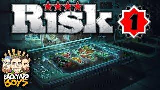 RISK (Hasbro Family Fun Pack) - World Domination - Part 1 - Backyard Boys