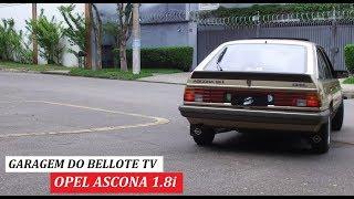 Garagem do Bellote TV: Opel Ascona 1.8i