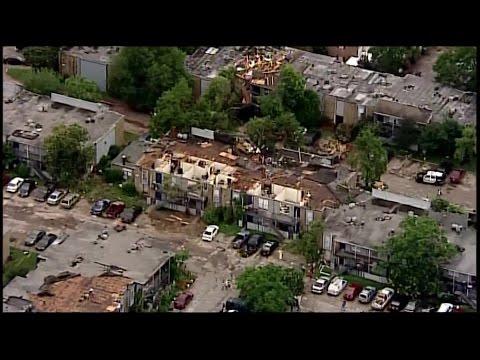 Houston Tornado Damage