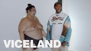 2 Chainz and Jerry Rice Go Head-to-Head with Sumo Wrestlers   MOST EXPENSIVEST