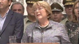 Nuove scosse nel Nord del Cile. Bachelet visita le zone colpite