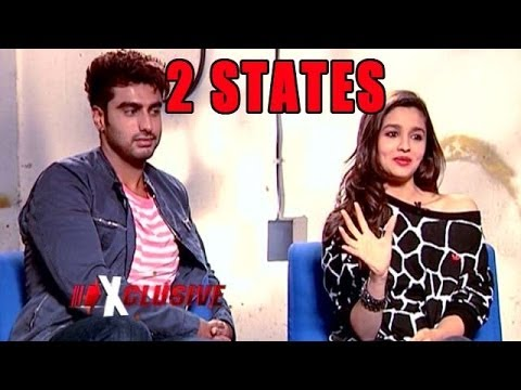 2 States Movie Actors : Alia Bhatt and Arjun Kapoor - EXCLUSIVE Interview
