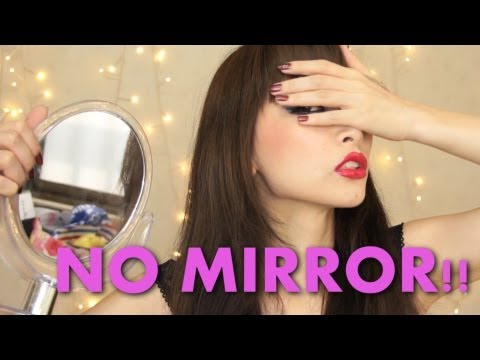 TAG: No Mirror Makeup Challenge!!