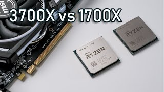 AMD Ryzen 3700X vs 1700X, should you upgrade? (PC gaming comparison)