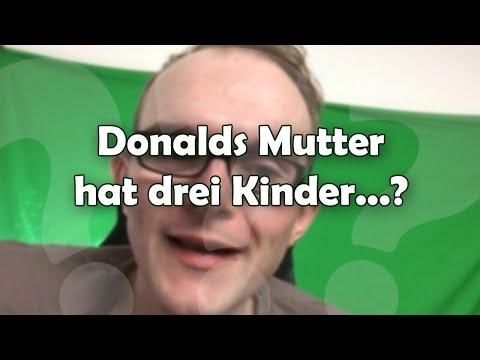 Donalds Mutter hat drei Kinder: Tick, Trick und...?