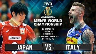 Italy vs. Japan | Highlights | Mens World Championship 2018