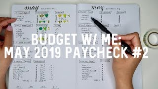 BUDGET W/ ME: May 2019 -  Part 1 | Jerlyn Phan