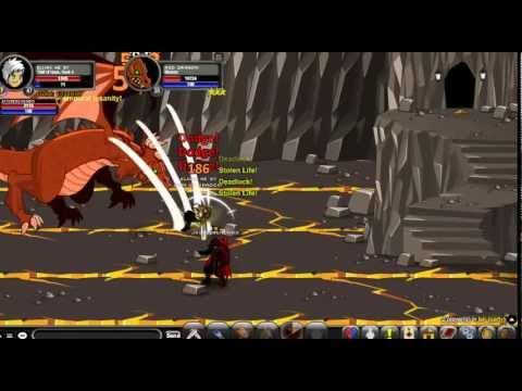 AQW como usar Thief of Hours class