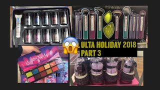 What's new at Ulta Holiday 2018 part 3!