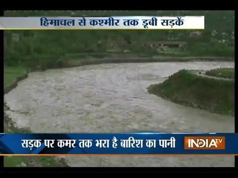 Heavy rains kill 35 in Gujarat, made situation as flood