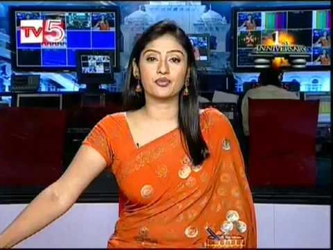 kalyani tv5 newsreader flv   youtube