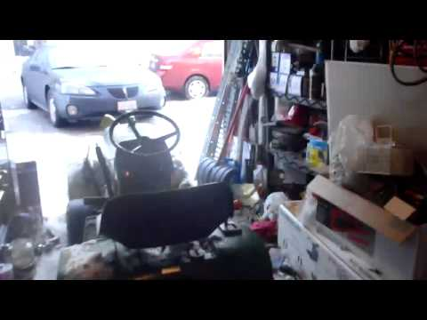 John Deere 111 Snow Blower INSTALATION and COMPONENTS