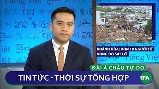 Tin nóng 24h 19/11/2018   Khánh Hòa: hơn chục người tử vong do sạt lở đất từ cơn bão số 8