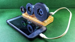 Free Energy Dynamo Mobile Charging Self Running Generator 100% With Magnets At Home