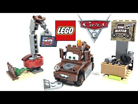 LEGO Cars 3 Mater's Junkyard review! 2017 set 10733!