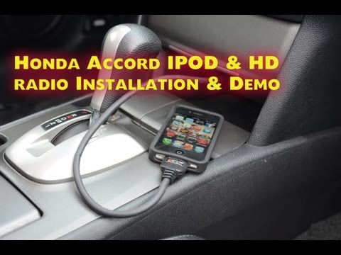 Honda Accord IPOD & HD RADIO.  2008-2012 Aux  Isimple PXAMG by Autotoys.com