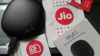 Reliance Jio 4G MiFi Device WiFi JioFi Hotspot Review