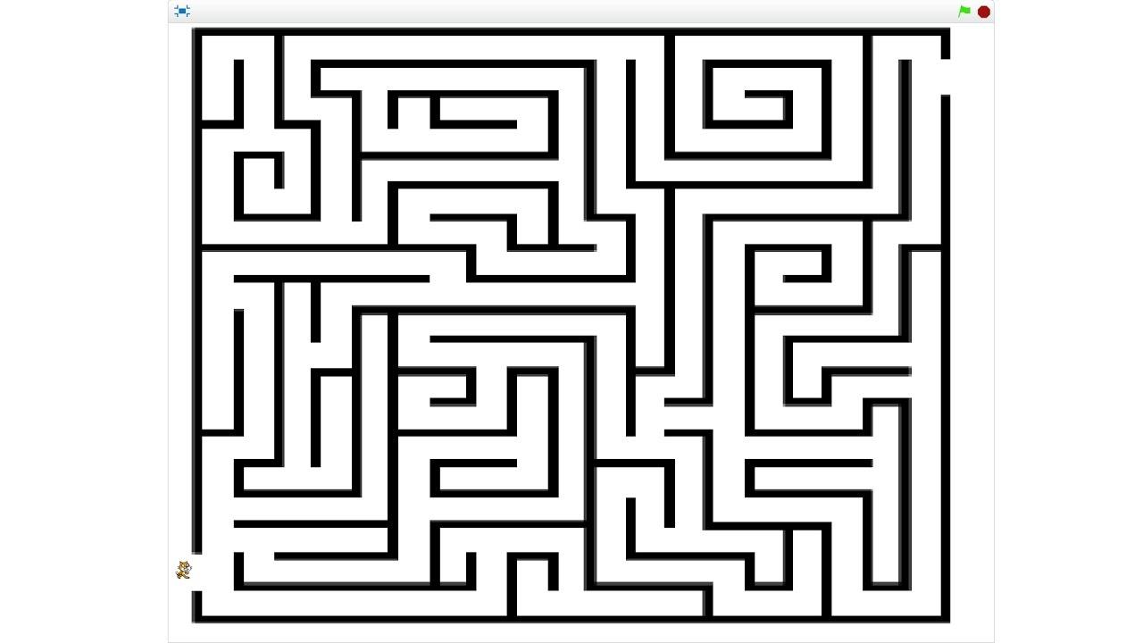 Jeu Labyrinthe Scratch Youtube
