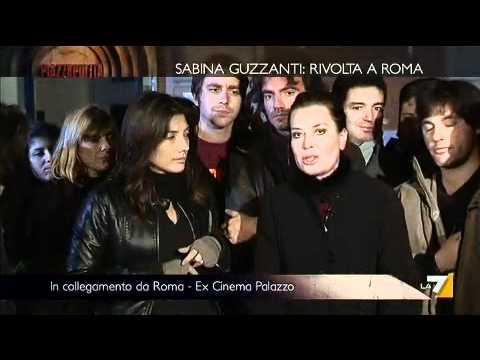 Sabina Guzzanti CINEMA PALAZZO – NO AL CASINO'  16 12 2011