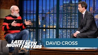 David Cross and Seth Have a Stand-Off - Late Night with Seth Meyers