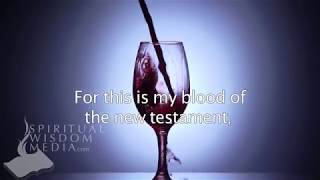 Matthew 26:28 - For this is my blood of the new testament, which is shed - Bible Verses