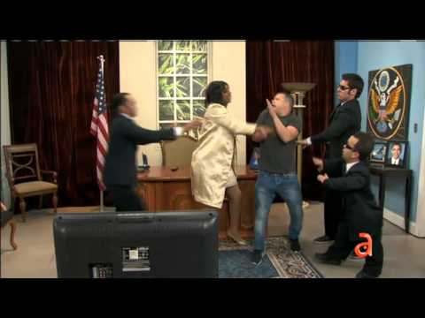 La reacción de Michelle Obama al escuchar al Rodner Figueroa