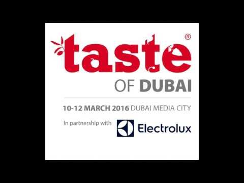 Taste of Dubai 2016 radio advert