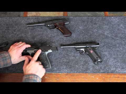 Browning Buckmark vs Ruger MkIII vs Hi-Standard Dura-matic