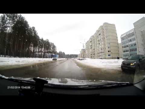 Уроки вождения по городу - видео