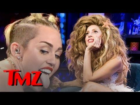 Lady Gaga Defends Miley Cyrus