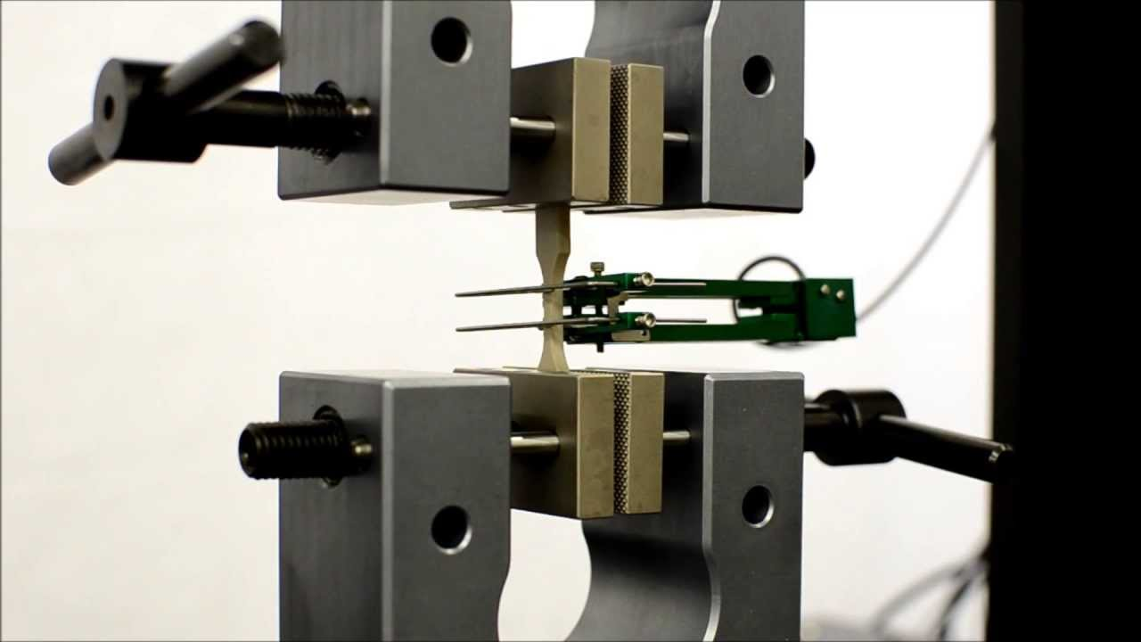 Tensile Strength Testers : Micro tensile strength test of plastic per astm d youtube