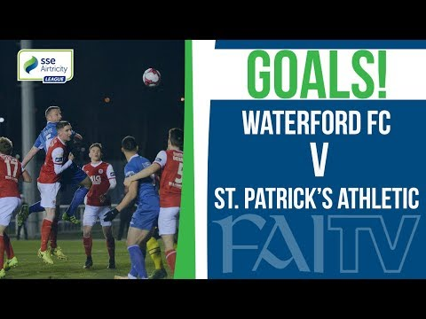 GOALS: Waterford FC v St. Patrick's Athletic