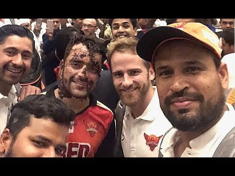Srh vs Kkr | Rashid Khan Celebration inside Dressing room | Vivo Ipl 2018 Funny videos