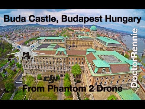 Buda Castle, Budapest, Hungary in UHD (4K) drone travel video