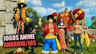 Top 17 Melhores Jogos Anime para ANDROID/iOS 2019 (sem emulador) | Bons gráficos