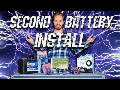 Dual Battery Install - Backyard Mechanic TIps