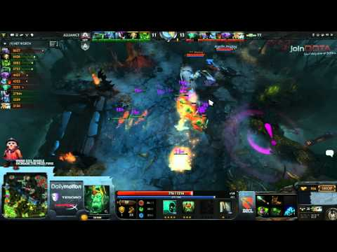 The Alliance vs Team Tinker Game 2   Dota 2 Champions League @TobiWanDOTA & Clairvoyance