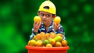 छोटू के आम | CHOTU KE MANGO | Khandesh Hindi Comedy | Chotu Comedy Video
