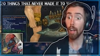 "Asmongold Reacts to ""20 Things That Didn't Make it to Warlords of Draenor WoW"" by MadSeasonShow"
