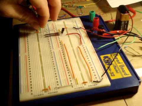 Electronics 10 : How to Make an AND Logic Gate ( 2 Transistor )