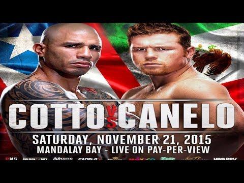 Miguel Cotto vs  Canelo Alvarez full video- Canelo Alvarez complete media conference call