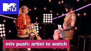 Download Lagu Hayley Kiyoko Opens Up About Being A Gay Role Model   MTV Push: Artist to Watch Gratis STAFABAND